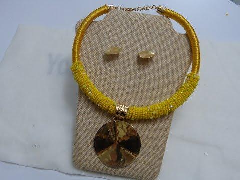 3b82e3d5847c Смотрите сегодня como elaborar collares con perlas