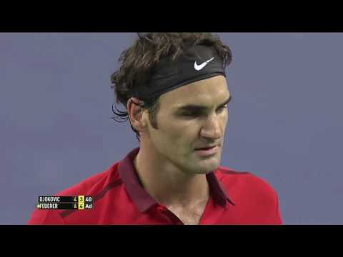 Roger Federer v. Novak Djokovic | Shanghai 2014 SF Highlights HD