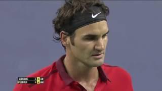 Roger Federer v. Novak Djokovic   Shanghai 2014 SF Highlights HD