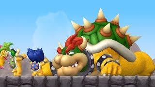 New Super Mario Bros Wii - The Movie (All Cutscenes)