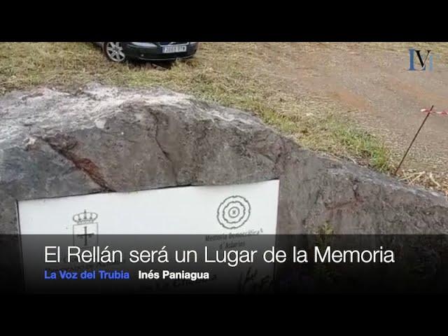 El Rellán será un Lugar de la Memoria tras la exhumación