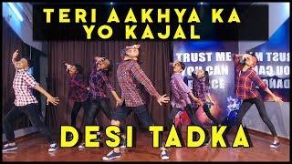 Teri Aakhya Ka Yo Kajal Desi Tadka | Sapna Choudhary | Vicky Patel Dance Choreography