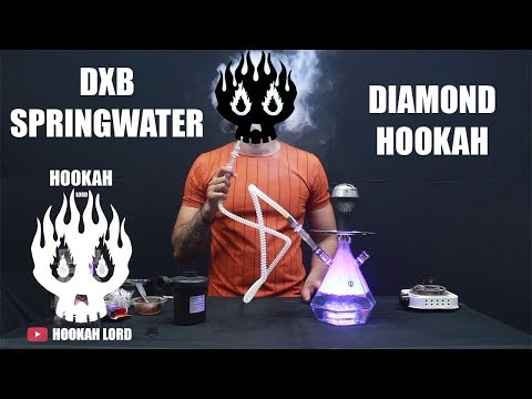DIAMOND HOOKAH WITH LIGHT | HOOKAH LORD | CHEAP HOOKAH ONLINE