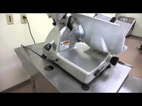 Globe G12 Precision Medium Duty Meat Deli Cheese Turkey Chicken Slicer, Thrane Equipment