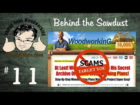 Today's Woodworking News 4/22/15- Ted's Woodworking Plans: Fight the Scam!