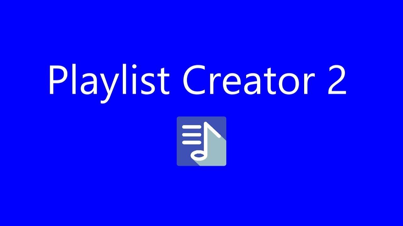 App Promotion Video of Playlist Creator 2 [EN]