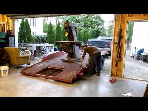 Moving A 3500 Lb Milling Machine