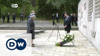 الملكة إليزابيث تزور معسكر بيرجن-بيلسن النازي فى ألمانيا  | الأخبار