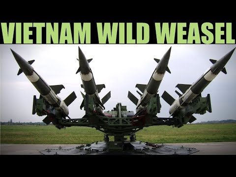 ENORMOUS Wild Weasel Anti-SAM Mission In Vietnam | DCS 2.5