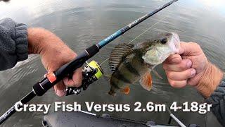 Спиннинг на Щуку Спиннинг Crazy Fish Versus 2021