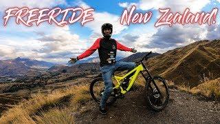 FREERIDE MTB Abenteuer in Neuseeland - Riding Coronet Peak Rude Rock!