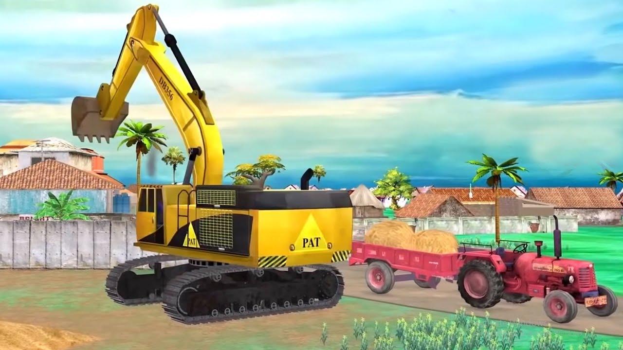 मिनी ट्रैक्टर जेसीबी वाला Mini Tractor JCB Wala Comedy Video हिंदी कहानियां Hindi Kahaniya Comedy