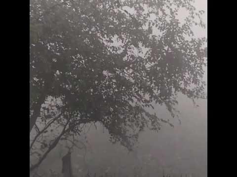 Walking in Varanasi, heavy fog