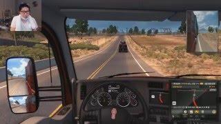 대도서관] 아메리칸 트럭 시뮬레이터 - 미국 물류계 정복에 나선 초보 기사의 좌충우돌 운전기 (American Truck Simulator)