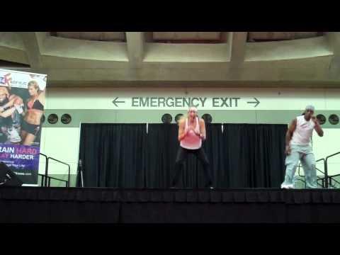 FIERCE4 Fitness Workout w Janis Saffell & Guest Instructor Pepper Von | Baltimore 2012