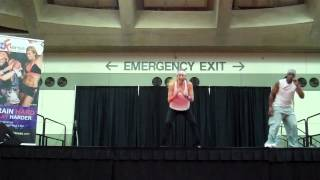 FIERCE4 Fitness Workout w Janis Saffell & Guest Instructor Pepper Von | Baltimore 2012