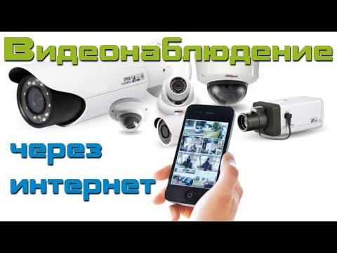 Видеонаблюдение через приложение на смартфоне