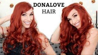 Wigs Sexy redhead