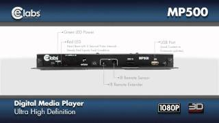 1080p Network-ready Digital Media Player