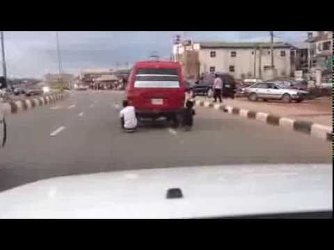 AMAZING VIDEO OF STREET TRANSPORTATION IN BENIN CITY