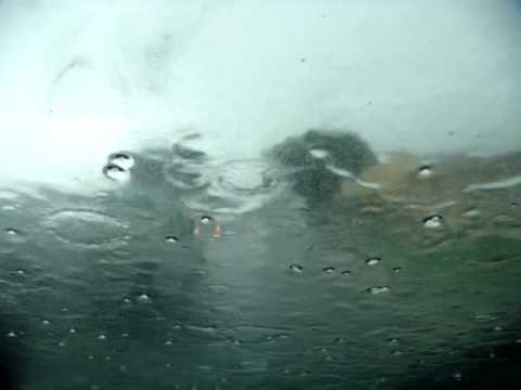 INSANE RAIN!! Santa Barbara Hail Storm-Milpas Street (At our SECRET Taqueria Dive!)