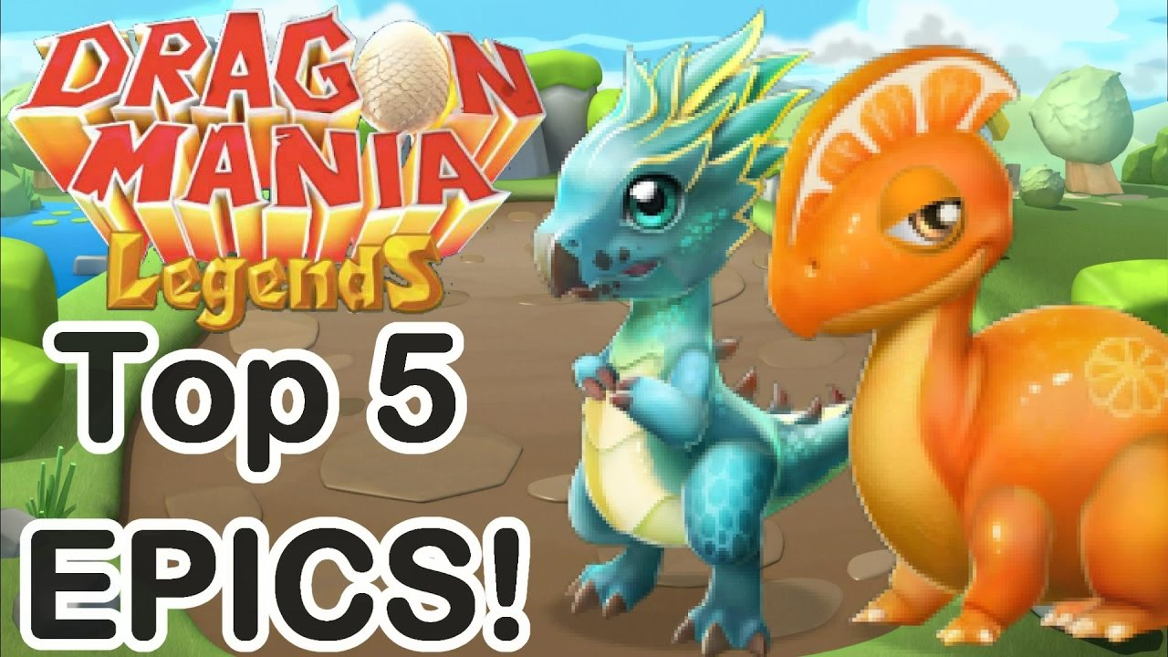 Dragon Legends: Top 5 Easiest EPIC Dragons To Breed For NEW PLAYERS