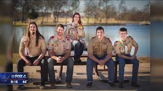 4 Crowley brothers all earn Eagle Scout rank