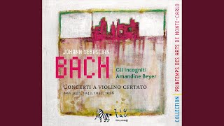 Concerto for Violin No. 1 in D Minor, BWV 1052: I. Allegro