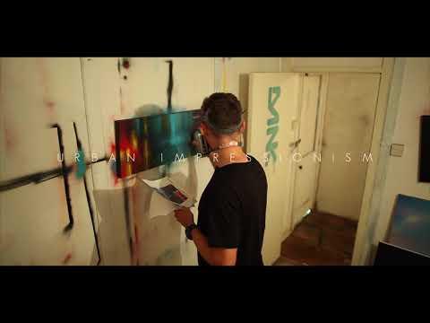 Dan Kitchener in his studio