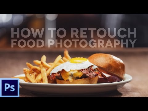How to Retouch Food (Burger) with Adobe Photoshop
