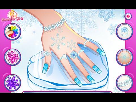 Frozen Elsa Games Elsa Great Manicure Fun Online Nail Design Games