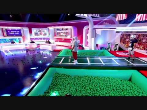 A League of their own 6 Episode 3. American Football Game. Johnny Vegas.Canning Conveyors