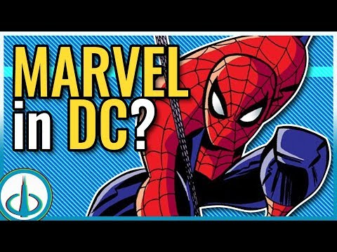 AVENGERS & MARVEL Easter Eggs in DC Cartoons (Part 2) | Watchtower Database