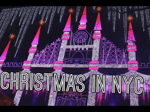 CHRISTMAS IN NYC| VLOGMAS DAY 12| ♡♡ |MRANDMRSGLAM