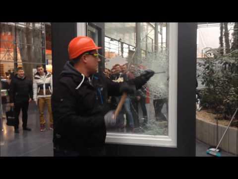 Włamanie przez okno. Test odporności okna Internorm KF500