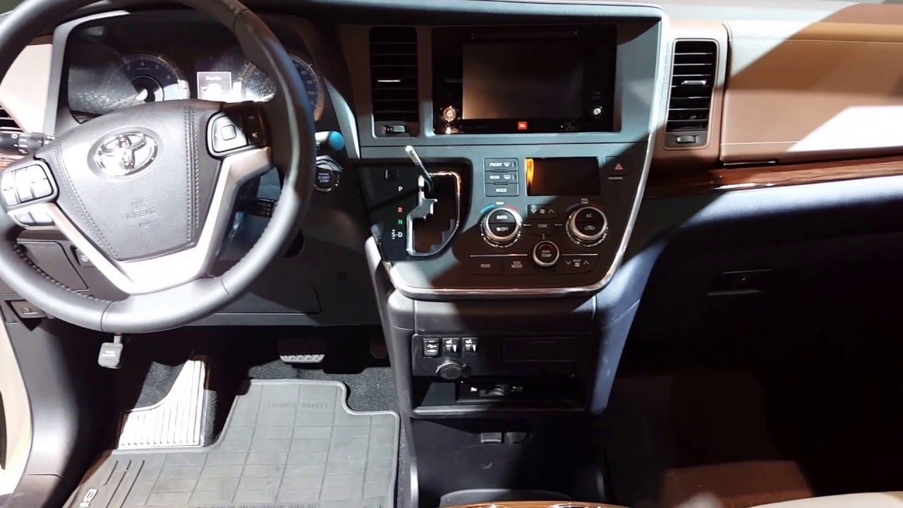 2016 Toyota Sienna Limited Interior Walkaround Price Site Cars