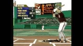 Interplay Sports Baseball 2000 PlayStation Gameplay