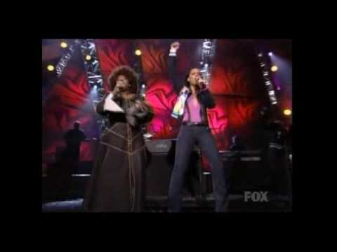 alicia keys, angie stone & eve a woman's worth & brotha part ii live