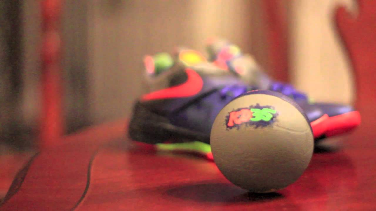 ed6716fe2b6b4f Nike Kd 4  Nerf  Overview and On-foot - YouTube