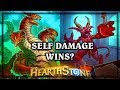 Unlicenced Apothecary & Hydra Self Damage Wins?  🍀🎲 ~ Kobolds and Catacombs ~ Hearthstone