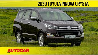 2020 Toyota Innova Crysta automatic - BS6 2.4 diesel gets 6-speed AT  | First Drive | Autocar India