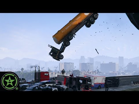 WE MAKE A CAR BALL PIT - GTA V: Freeplay | Let's Play