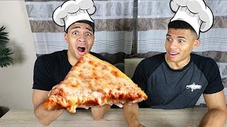 PIZZA OHNE REZEPT BACKEN !!! | PrankBrosTV