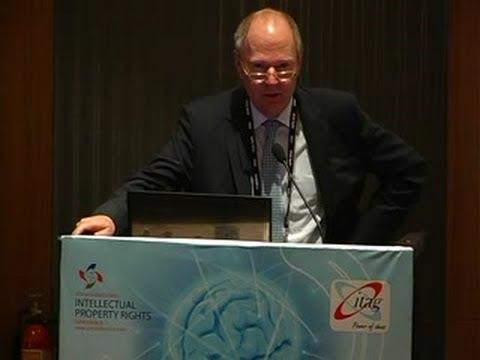MR.Stefan Gahlret at GIPC 2013,Bangalore,India