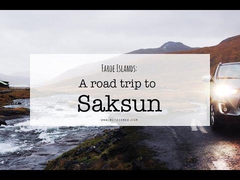 Faroe Islands - A road trip from Tórshavn to Saksun