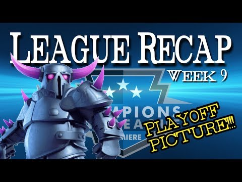 CWL PREMIERE LEAGUE RECAP | PLAYOFF PICTURE | WEEK 9