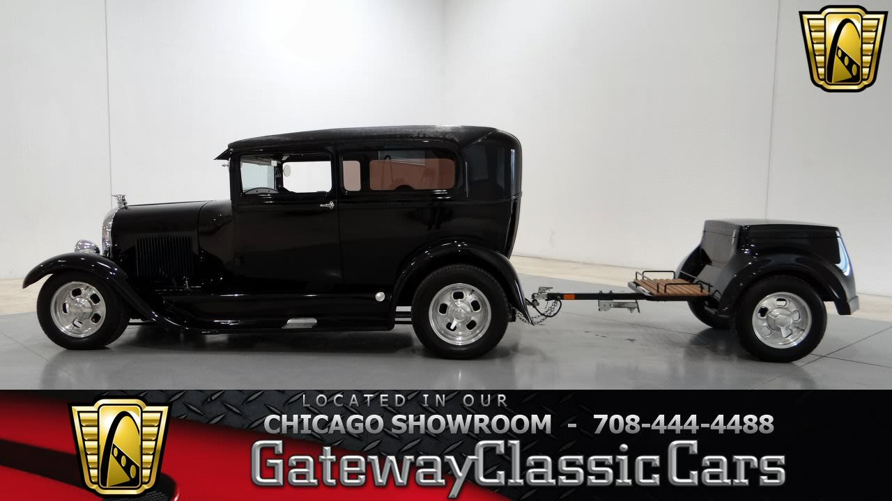 1928 Ford Model A Gateway Classic Cars Chicago #710 - YouTube