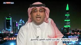 الإمارات والسعودية.. إطار جديد لتكثيف التعاون والتنسيق