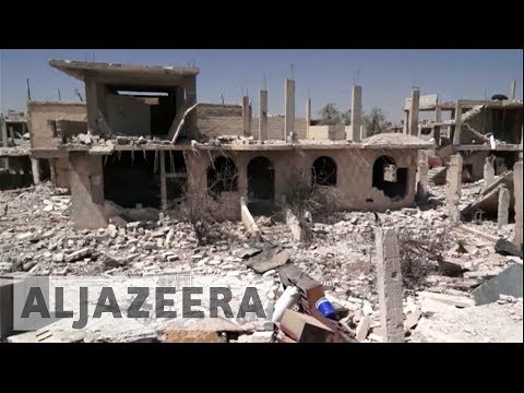 Fighting escalates in Syria's Deraa
