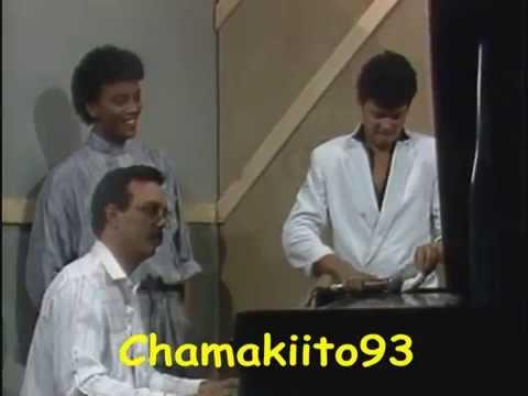 Sergio Vargas Y Jao Aguilera En El Piano Bar Junto A Yaqui Nuñez En El  Del Mediodia 1988